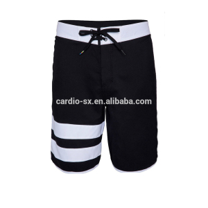 Black muay thai shorts black and white board shorts mens shorts