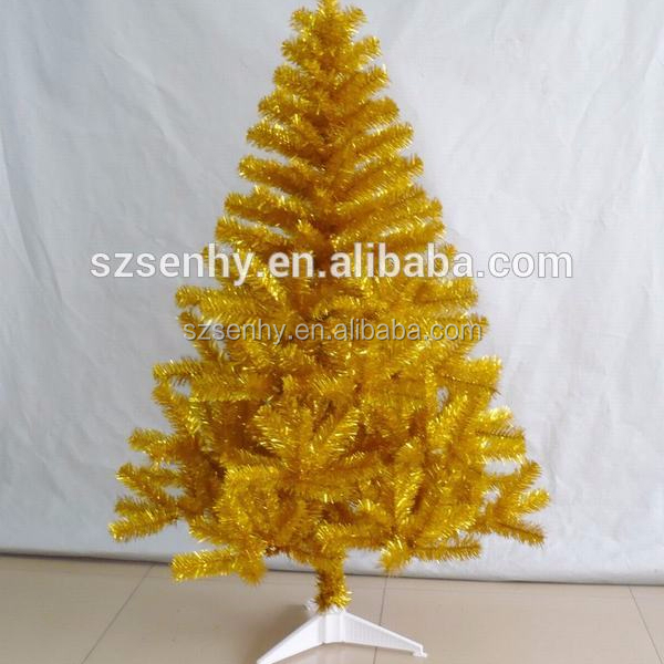 Black and Yellow Christmas Tree with Unique Design