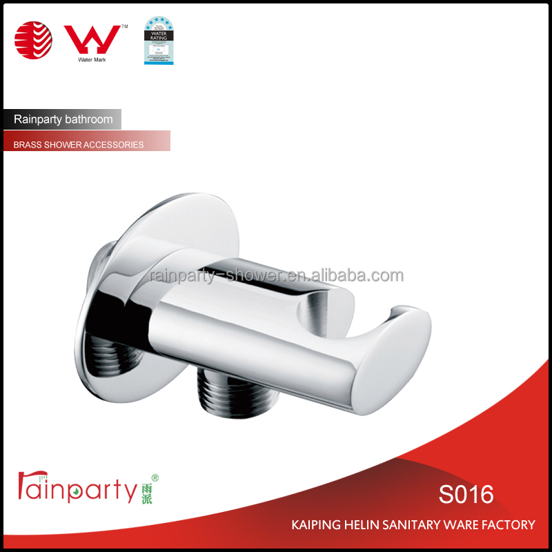 Bathroom Faucet Accessories Brass Shower Holders with water outlet/elbow