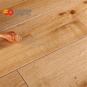 ABCD big knot texture prefinished white oak timber flooring parquet flooring oiled