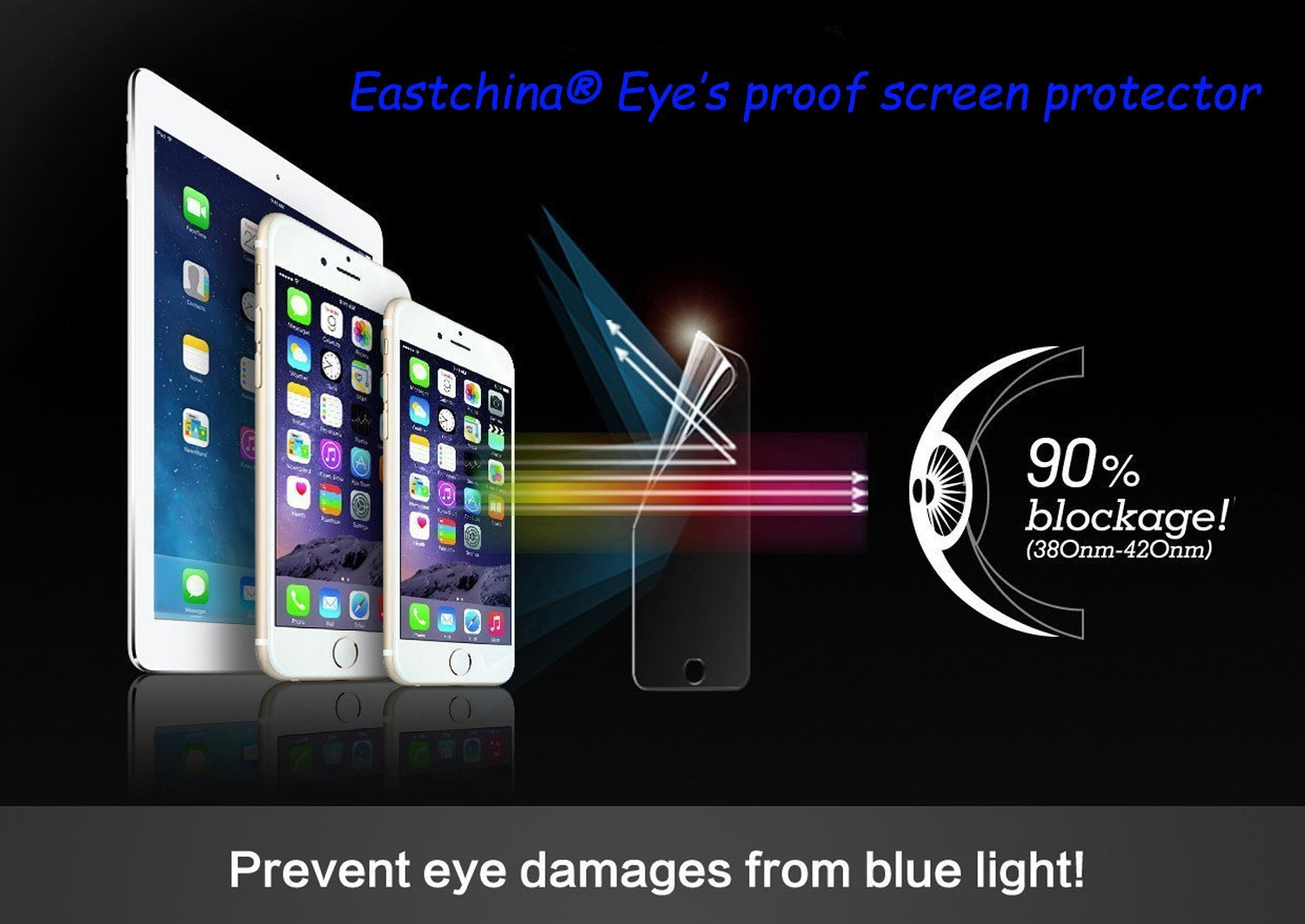 Cheap eye chart light find eye chart light deals on line at get quotations eastchina ipad mini tempered glass screen protector blocks excessive harmful blue light nvjuhfo Gallery