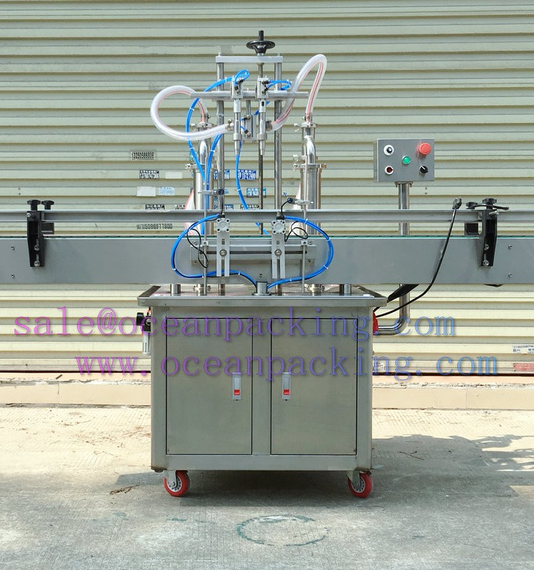 2 Heads Automatic business lotion bottle Filling Machine