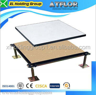 data center HPL anti static powder coated raised floor for construction and real estate antistatic 1.2mm