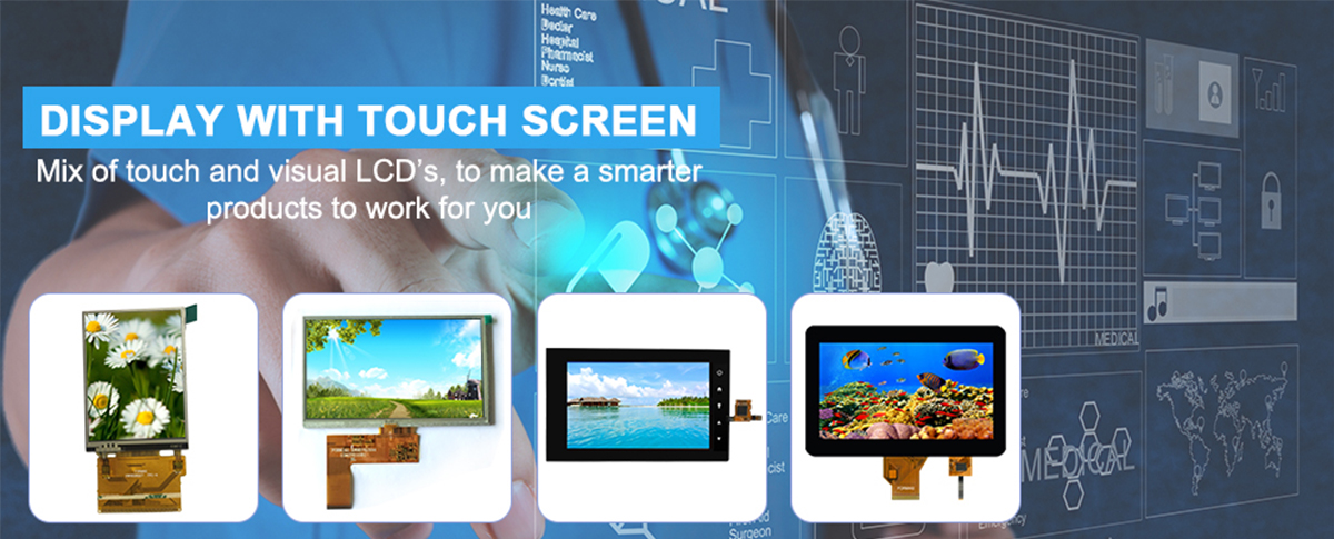 TN Transmissive type 4.3 inch TFT LCD 480x272 touchscreen for video device