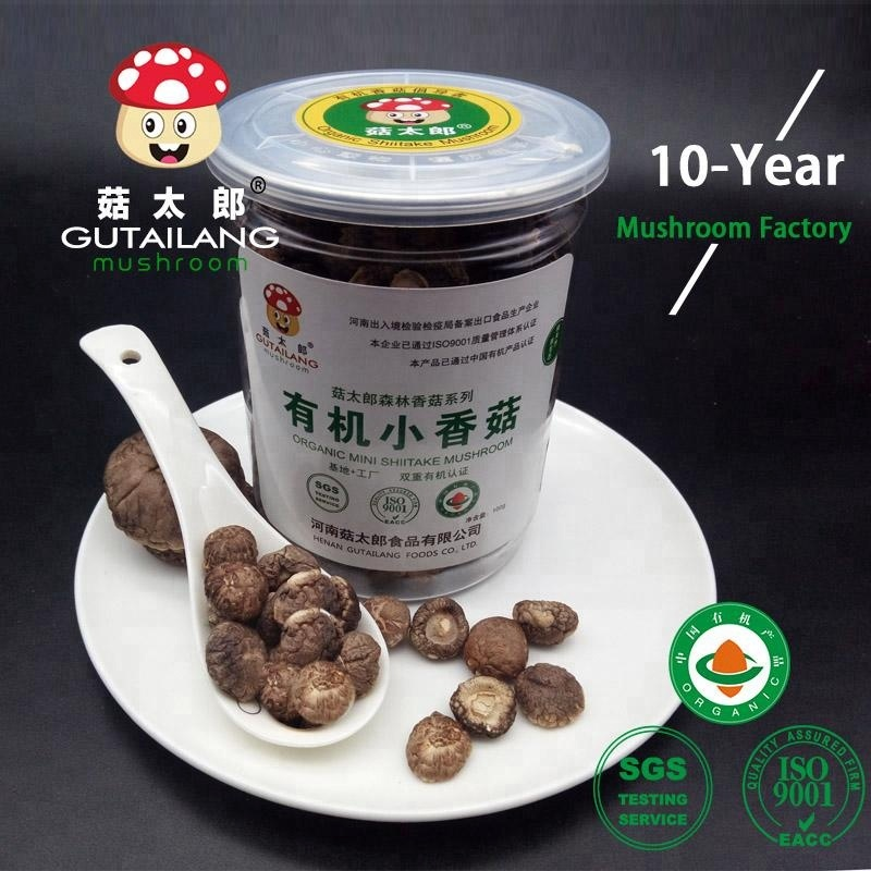 Best seller special for soup organic dried mini shiitake mushroom
