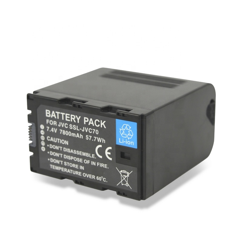 GR-D250US 7.4v 1500mAh GR-D247 Rechargeable Battery BN-VF714U Replacement for JVC GR-D246 GR-D240