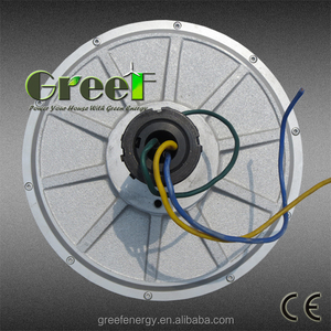 Coreless PMG ! 1kw 2 kw 3kw 5kw 10kw permanent magnet Generator for Vertical axis wind turbine Low start torque