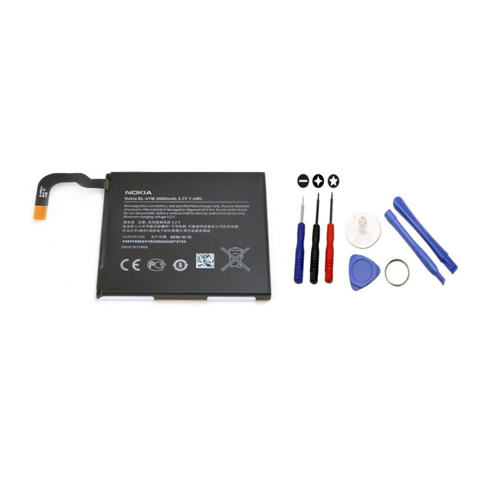 Cheap Battery Connectors 2000mah For Bl 4c Find Baterai Nokia Bl5c Bl4c Get Quotations Original 4yw Bl4yw Lumia 925 With Fpj Tool Kit