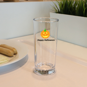 Wholesale restaurant bar use 330ml drinking glass cup for juice