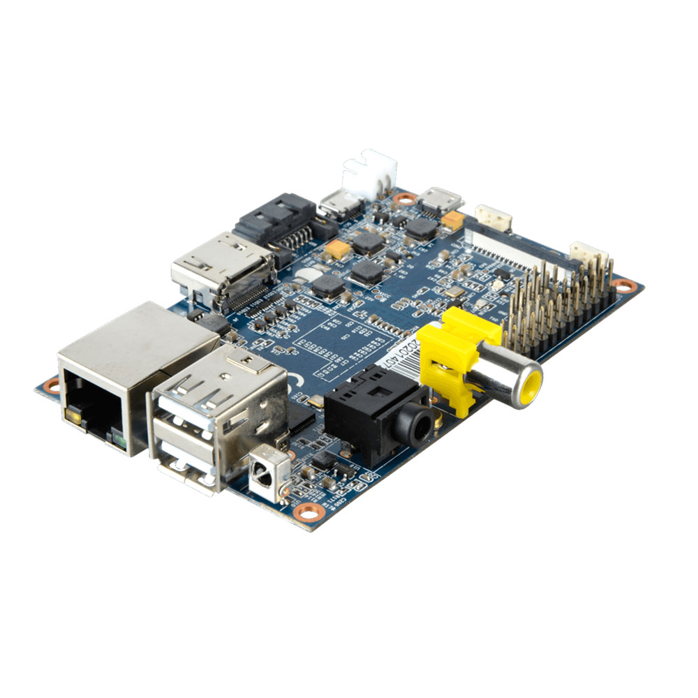 RAM marco placa base Android Banana PI mejor que Raspberry pi