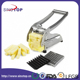 2017 French Fry Potato Cutter with Round Bottom for Easy Slicing 2 Blades