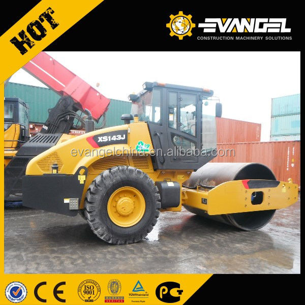 14 ton single drum vibratory road roller XS143J on sale