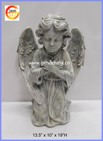 European polyresin angel statues home decoration for Christmas ornament