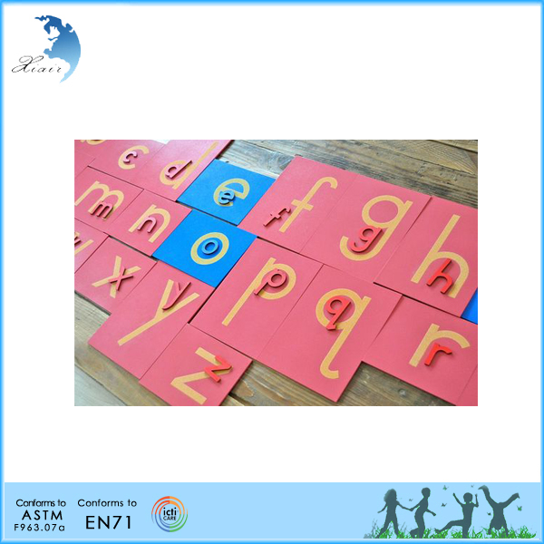 Wholesale China factory chinese language educational toys montessori arabic material