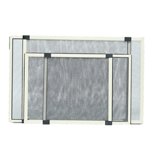 Netting sliding patio insect screen for awnings