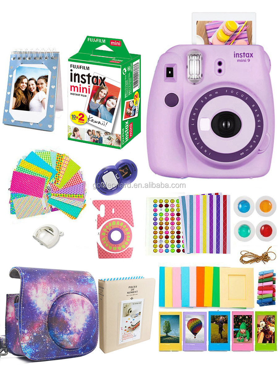 Fujifilm instax Camera & Accessories for Fujifilm Mini 9 Instant Camera (Purple)