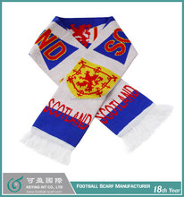 Fan Football Scarf for Customized Designs
