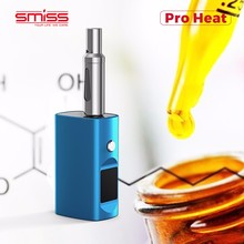 Smiss Pro Heat Mini Box Mod 510 Battery Mod for CBD Oil Vape Cartridge