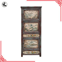 wholesale Chinese antique reproduction hand paint wood furniture