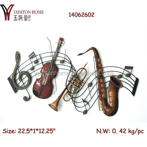 Product Pictures Metal Music Note Wall Art Decor 14062602 Jpg