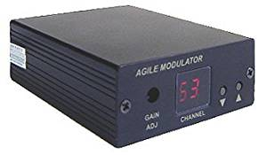 All-Channel NTSC Composite Video Audio To RF Coax Modulator