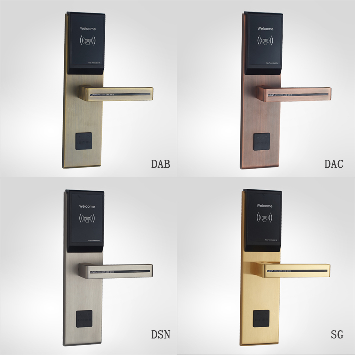 room card lock  rfid hotel lock with key card system for hotel rooms