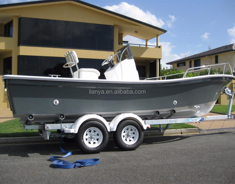 כולם חדשים סירות דייג מחיר סירת פיברגלס 5.8 m ליה panga עיצוב סוג--מספר זיהוי DS-36