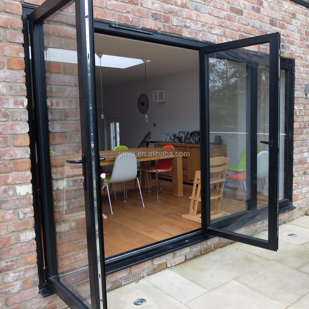 Hot Sale Heat Insualted Aluminium Casement Front <strong>Door</strong> With Laminated Glass