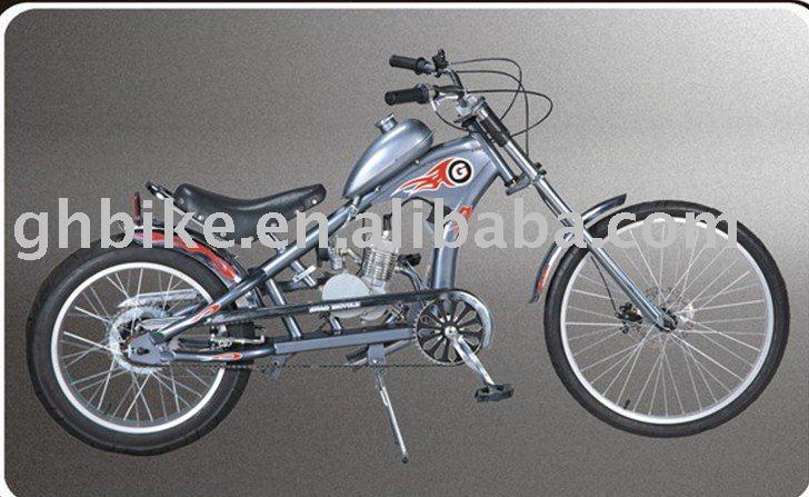 24 Two Stroke Gas Motor Chopper Engine Bicycle Gasoline Bike Kit