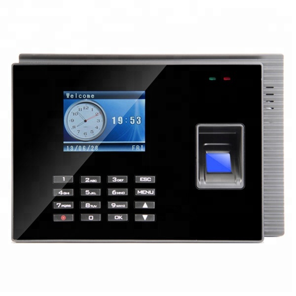 Md60 Biometric Fingerprint Time Attendance Machine Time Clock System With  Battery And Tcp/ip Wireless Wifi - Buy Fingerprint Time Clock,Biometric  Time