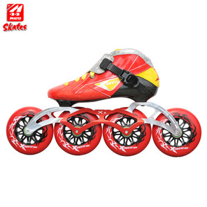 Kids Inline Slide Short Track Ice 110 Mm Wheels Speed Skates