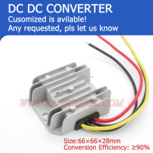 DC/ DC converter step down 24V to 12V 5A 25W high voltage dc converter