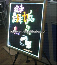 alibaba 2012 NEW Sparkle led writing board LED menu board