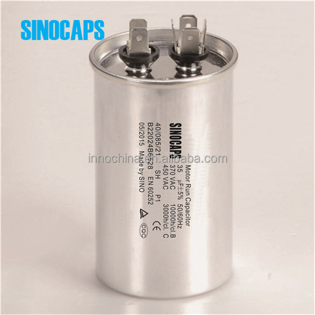Aluminum case round type cbb65 air condition 370vac sh capacitor, 370vac sh capacitor suppliers and  at panicattacktreatment.co