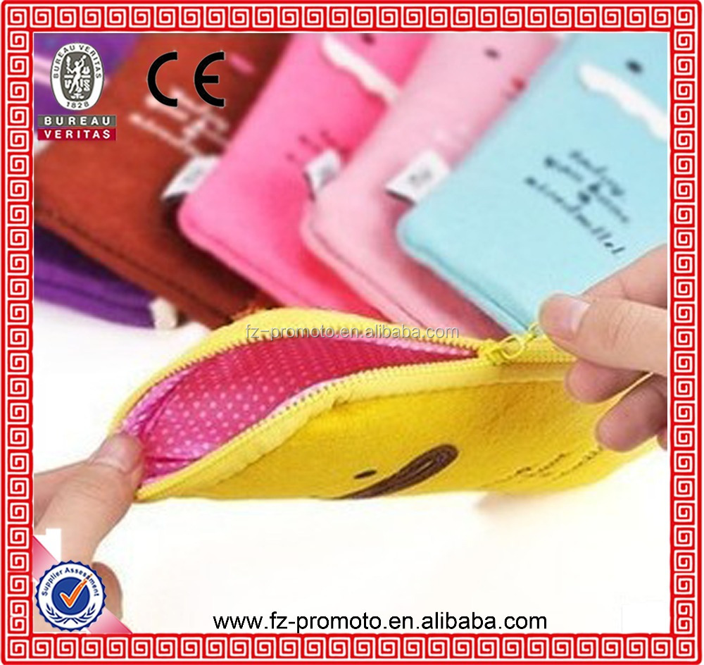High quality ! Felt Material Pencil bag, Pen case, comestic bag
