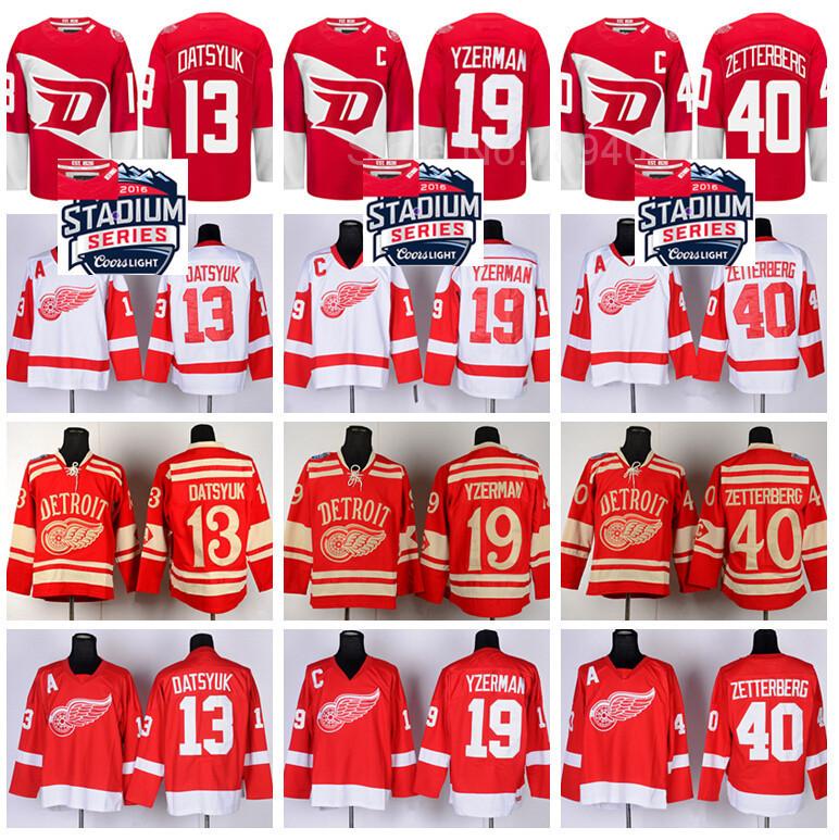 ... 50% off detroit red wings hockey jerseys 31 curtis joseph 33 kris draper  17 brett ... c09539dff