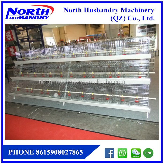 chicken layer/broiler breeder cages for poultry farm
