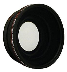 Digital Concepts 72MM 0.43X Wide Angle Lens For Panasonic AG-DVX100 AG-DVC80 AG-HMC150 HDR-FX1 HDR-AX2000 HXR-NX5U HVR-Z5U HVR-Z7U HDR-FX1 HDR-FX1000 HVR-Z1