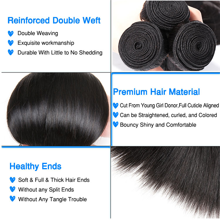 Top Quality Virgin Cambodian Hair Texture, Cuticle Aligned Human Hair Weft, Wholesale Straight Cambodian Virgin Hair Vendor