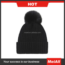 2016 wholesale plain custom hats knit hats and caps men women fashion knit beanie winter hat