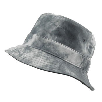 Ladies Women Blue Tie Dye White Print Embroidery Stone Washed Boonie Custom  Hat Reversible Bucket Hats 081f8775d148