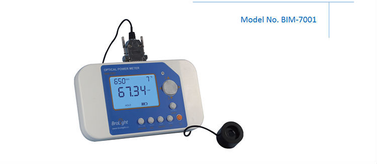 OEM Portable Digital Optical Power Meter with Photodetectors Used for Laser