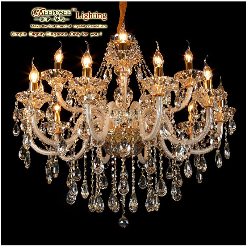 CE&UL Standard Luxury Colorful China Factory Wholesale Chandelier MDS70 L15