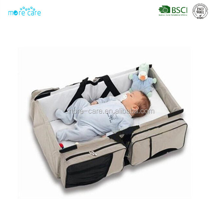 expandable foldable carry baby travel cot bed bag