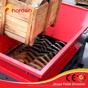 High Efficient of Wood Pallet Shredder for sale