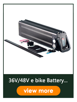 Sliver Fish Rechargeable Battery Electric Bike  Ebike Battery Pack 48v 25ah