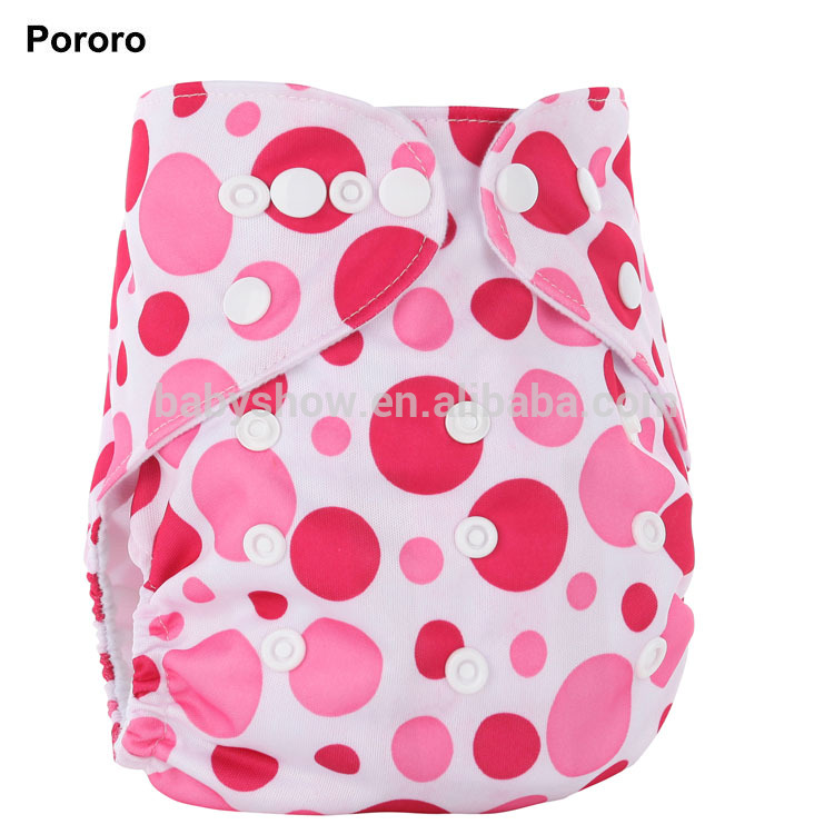 Pororo customized cloth diaper for baby ecologic washable nappy PUL waterproof best choice online China factory, Print