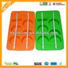 Promotional food grade colorful orange shape Silicone ice popsicle
