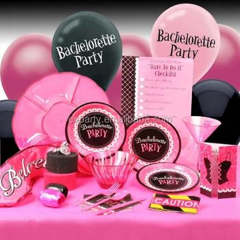 Adult bachelorette party supplies