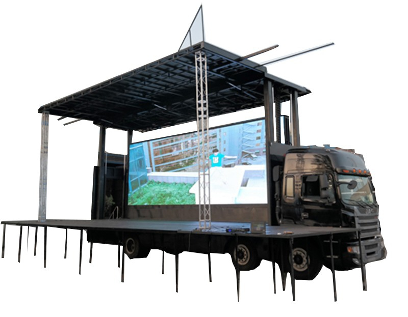 4.2 m China mobile food truck for sale